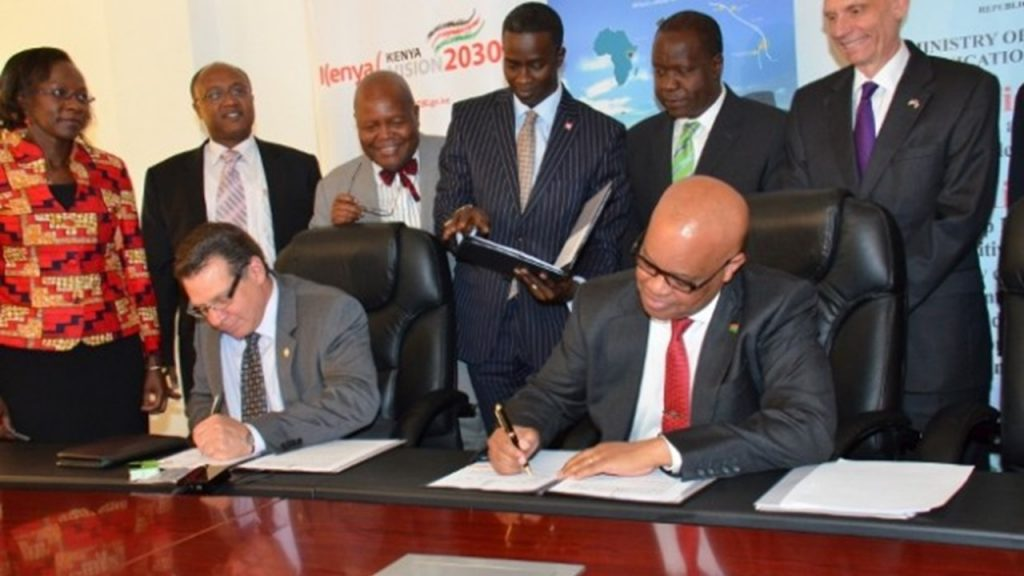 Commitment for Konza Data Center with China Exim bank